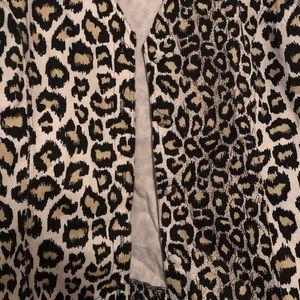 mari•lyn inc Jackets & Coats - Leopard cheetah print vest